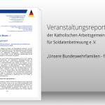 """""""Unsere Bundeswehrfamilien – fit für den Einsatz"""""""