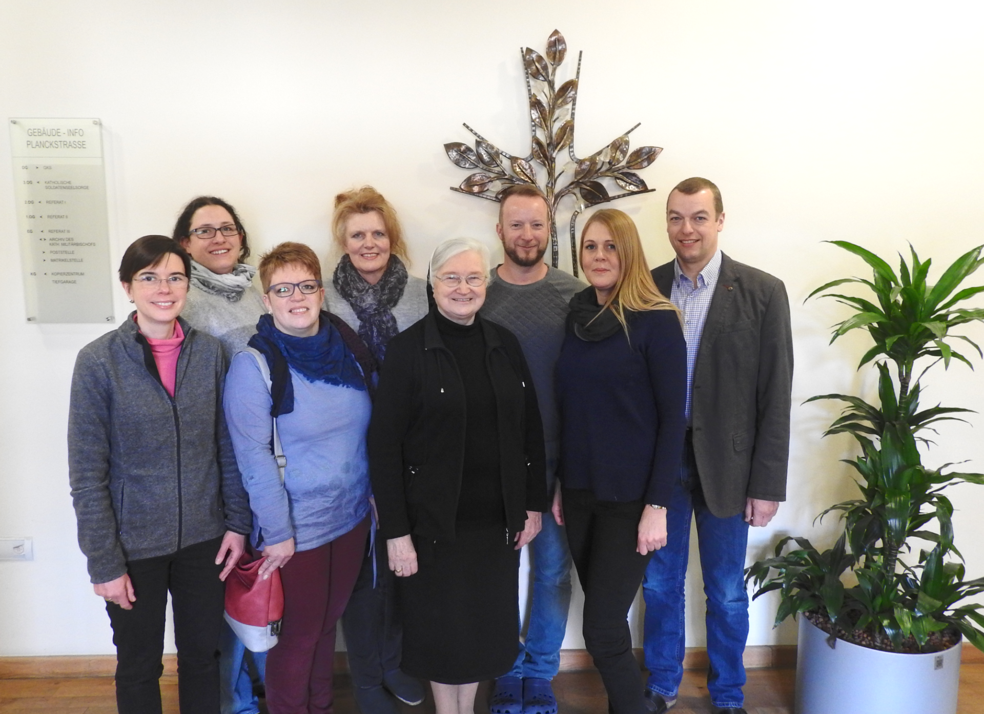 Gruppenfoto der Mitglieder des Sachausschusses