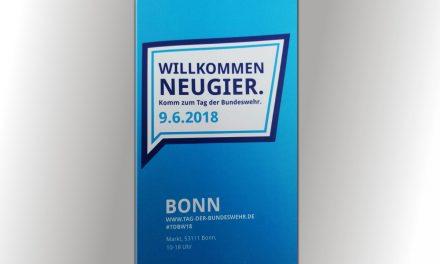 Der Krisenkompass beim Tag der Bundeswehr 2018 in Bonn
