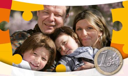 Ein Euro für starke Bundeswehrfamilien