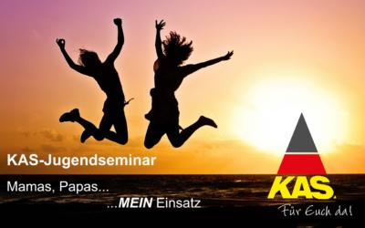 "KAS-Jugendseminar ""Mamas, Papas … MEIN Einsatz!"""
