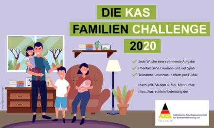 Die KAS Familien-Challenge 2020 für Bundeswehrfamilien