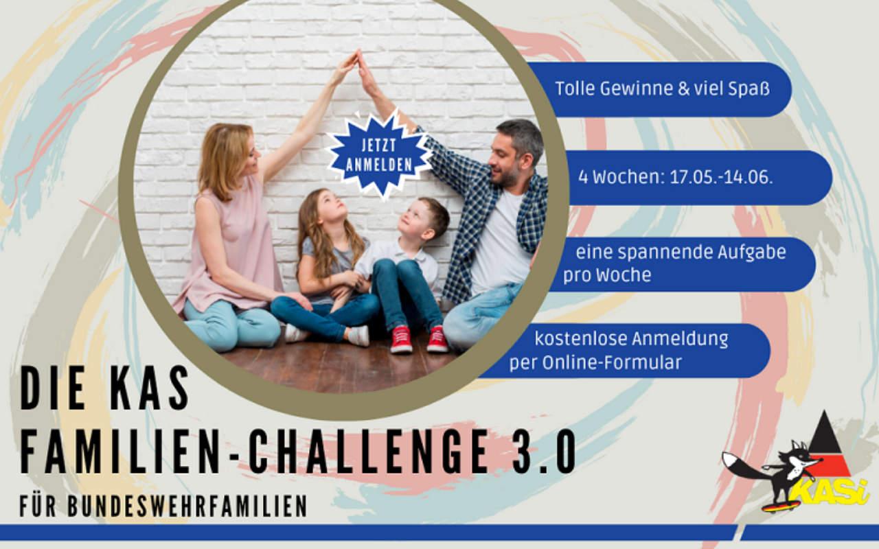 Die KAS Familien Challenge 3.0