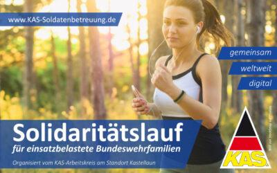 Solidaritätslauf für einsatzbelastete Bundeswehrfamilien 2021