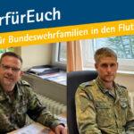 Hilfen für Flutopfer in der Bundeswehr