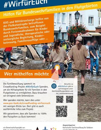 #WirFürEuch - Aufruf an Helfende